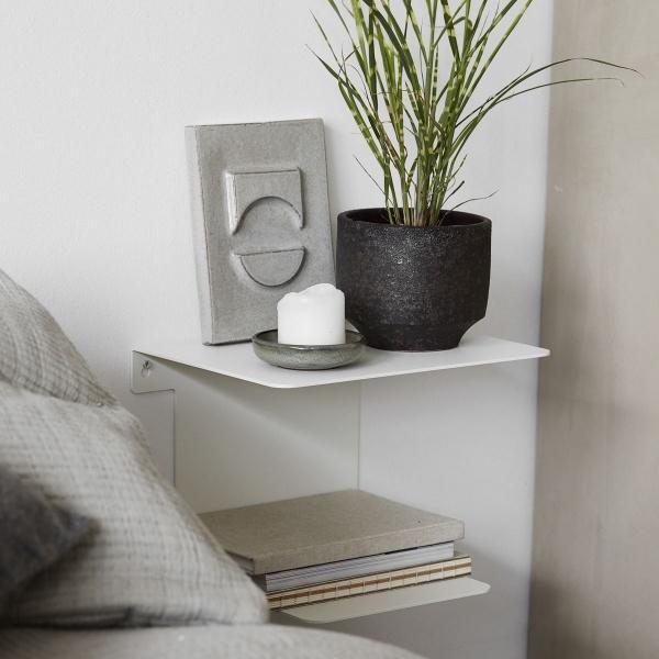 Stilig House Doctor Bookhylle, Hvit nattbord - Interiør24 trygg handel AD-23