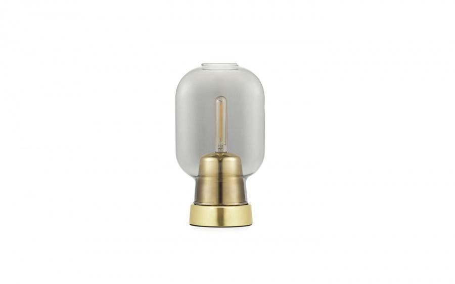 Normann Copenhagen Amp Table Lamp smokebrass Interiør24
