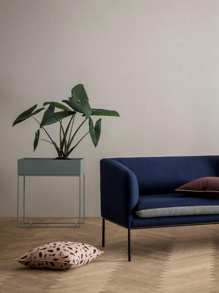Uvanlig Ferm Living Plant Box Dusty Blue - Interiør24 trygg handel VQ-62