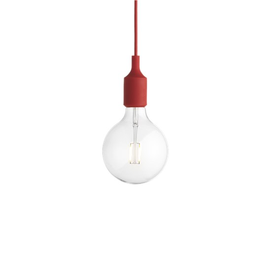 Muuto E 27 Lamp, Red (Led) Taklampe