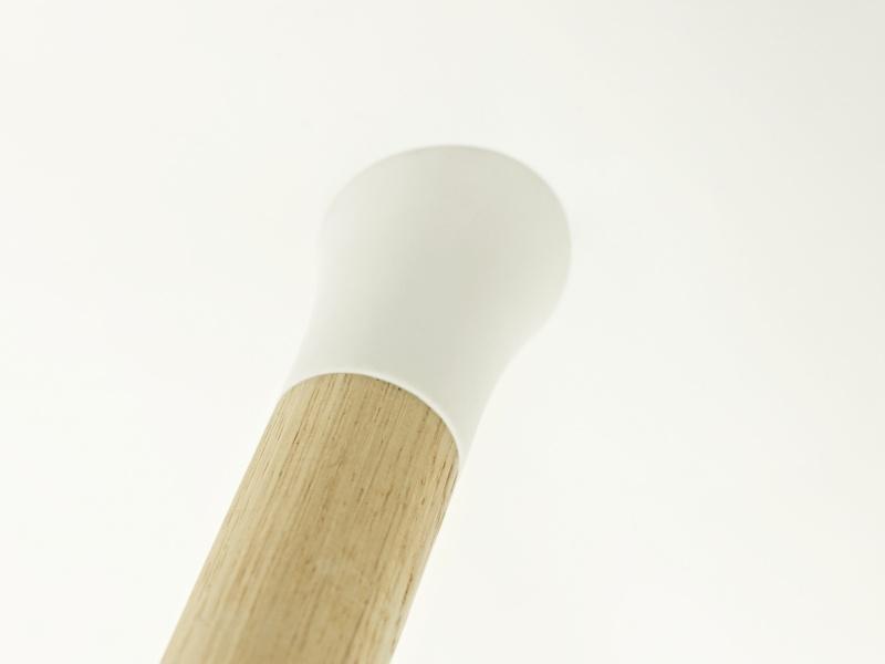 Normann Copenhagen Form barkrakk 65cm hviteik whiteoak