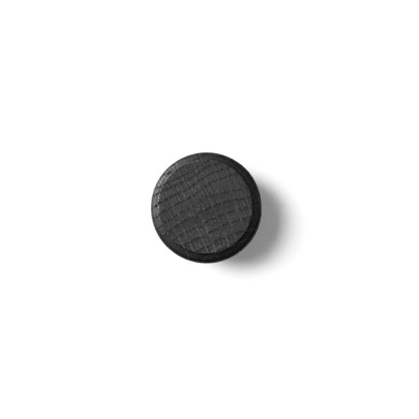 Topp Menu Knobs Black 2 pakning, Svart knagg - Interiør24 trygg handel TG-28