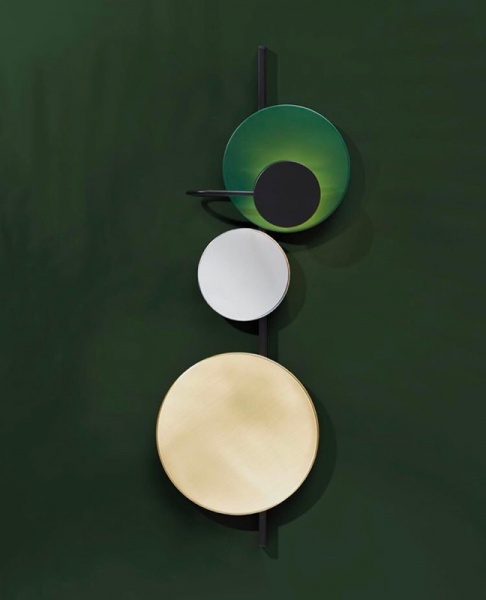 PLEASE WAIT to be SEATED Planet lamp Cedar Green, Please wait to be seated
