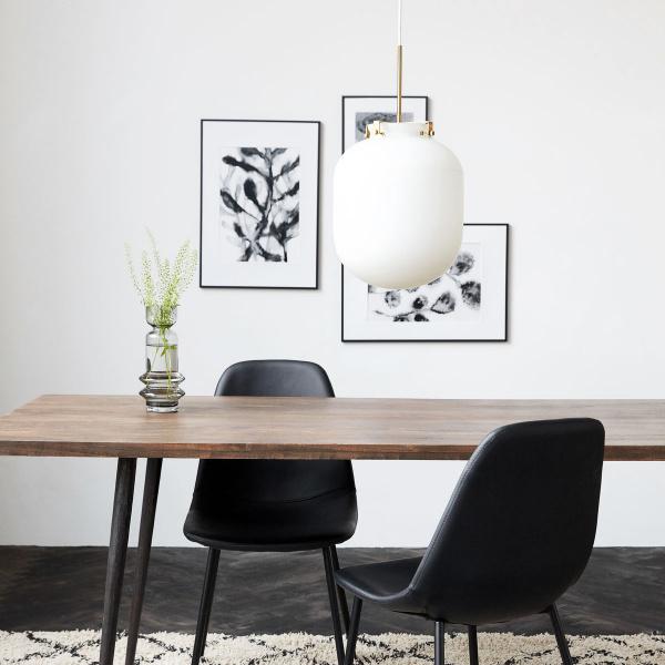 Forskjellige House Doctor Ball lampe, hvit - Interiør24 trygg handel YR-66