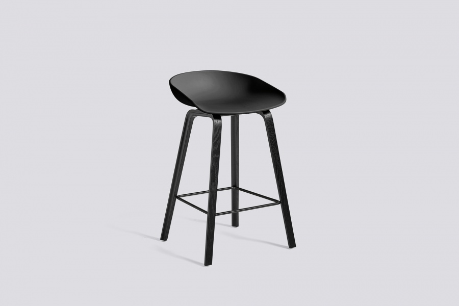 Hay 64cm Soft Black/Black AAS32,  About a Stool 32