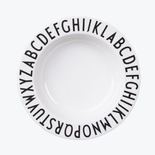 Design Letters Design Letters Melamine Deep Plate, Dyp Tallerken