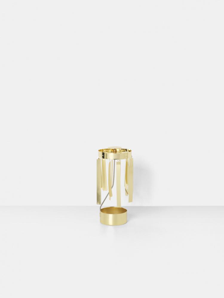 Strålende Ferm Living Tangle Spinning Tealight, Gold - Interiør24 trygg handel AM-48