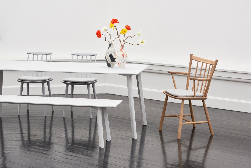 Hay J77 Chair, Dusty grey Interiør24 trygg handel