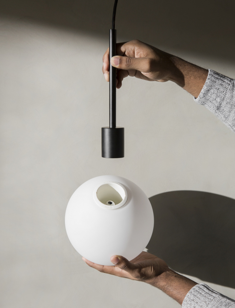 Taklampe TR Bulb Pendant Black