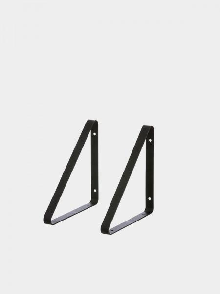 Ferm Living Shelf Hangers Black 2 Stk Interi 248 R24 Trygg